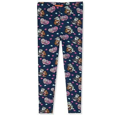 Disney Minnie Mouse Girls 3/4 Shorts Leggings Trousers Bottoms Pants 4-10 NEW