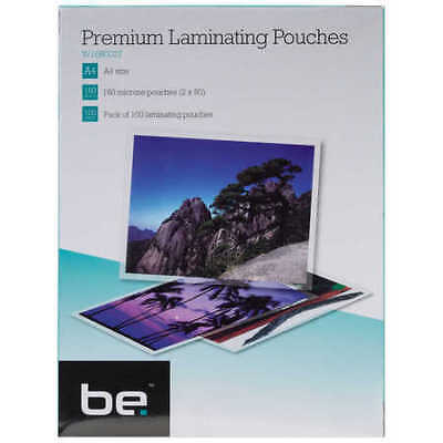 Be Premium A4 Premium Laminating Pouches 100 Pack - W160027
