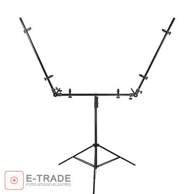 triple holder / mounting system for 3 reflectors - perfect for portrait, beauty