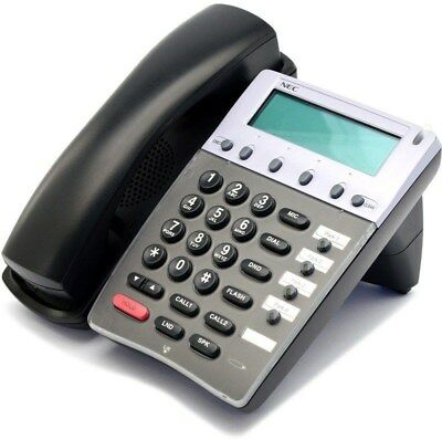 NEC Aspire IP1NA-4TIXH 4 Button Black VoIP Phone 0890072 A-Stock Refurbished
