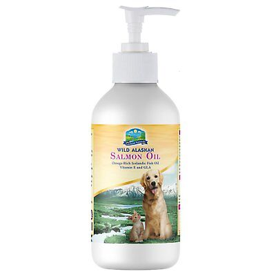 OMEGA 3 for Dogs and Cats - Wild Alaskan Salmon Oil, Icelandic Fish Oil, plus...
