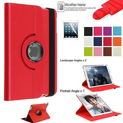 "New Apple iPad Pro 10.5"" 2017 Leather Rotating 360° Stand Smart Case Book Cover"
