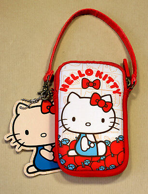 LOUNGEFLY Hello Kitty VINTAGE APPLES Multi Case OFFICIAL