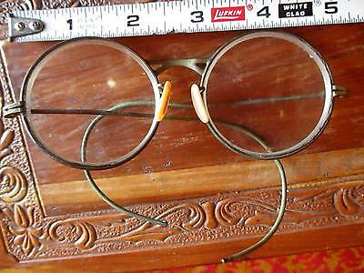 Vintage EXCEL Clear Lens Goggles Motorcycle Safety Sun Glasses SteamPunk Antique