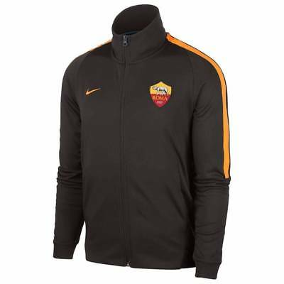 Nike AS Roma Authentic Franchise Jacket 2017/18 - Brown - Mens
