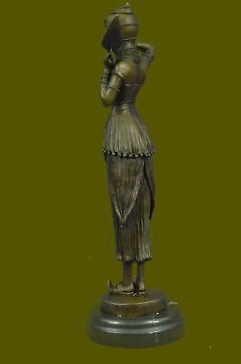 D.H.Chiparus Rare Art Collectible Deco Statue Dancer Sculpture Home Decor
