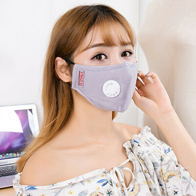 Mouth Muffle Face Mask Healthy Protective Men Women Anti Cold Dust PM 2.5