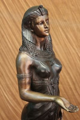 God, The Queen, Beautiful, Art, Egyptian Pharaoh,Ancient Bronze Sculpture Statue