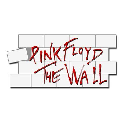Pink Floyd - Metall - Pin - The Wall - Metallpin Abzeichen Button