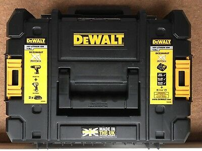 Dewalt Combi Drill DCZ298S2T-GB 18V, Hardly used in excellent condition