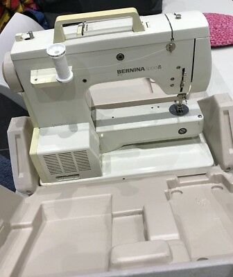 Bernina sport sewing machine good condition with case and tools