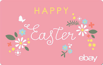 eBay Digital Gift card - Happy Easter $25 $50 $100 or $200 - Via Email