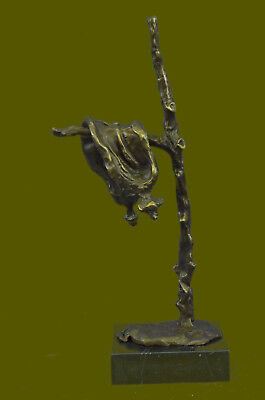 Hot Cast Detailed Dali Melting Clock Bronze Statue Lost Wax Method Statue