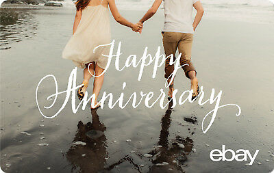 eBay Digital Gift card - Happy Anniversary $25 $50 $100 or $200 - Email Delivery