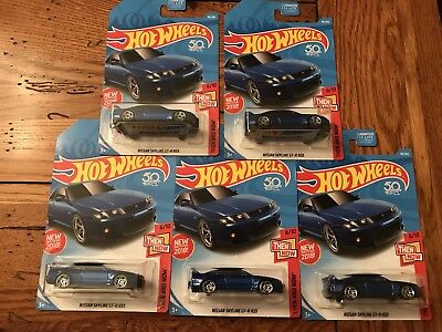 2018 Hot Wheels NISSAN SKYLINE GT-R R33 Then And Now Lot of 5 FIVE Cars