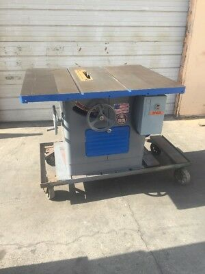 Delta Rockwell Milwaukee Tilting Arbor Table Saw 5 H.P.   3 Phase