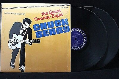 "CHUCK BERRY ""The Great Twenty-Eight"" 2xLP - 1983 CHESS Records CH2-92500 EX / NM"