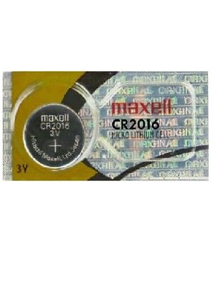 1 x Genuine Maxell CR2016 CR 20216 3V LITHIUM BATTERY Made in Japan BR2016 New