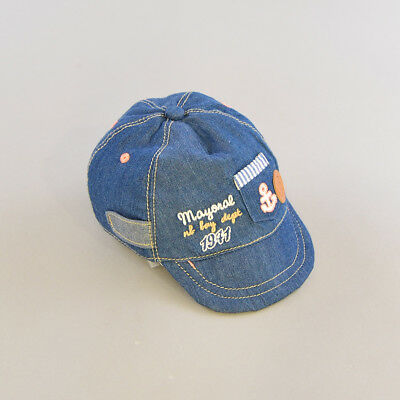 Gorra color Denim oscuro marca Mayoral 6 Meses