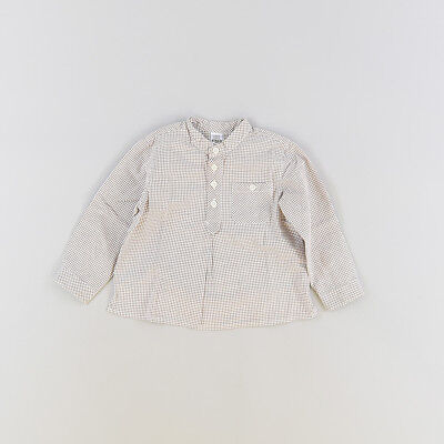 Blusa color Marrón marca Zara 9 Meses  203134