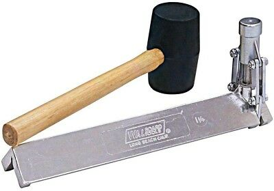 Drywall Corner Bead Tool Wal Board Tools CO-2A 1-1/4In Rubber Mallet Crimping