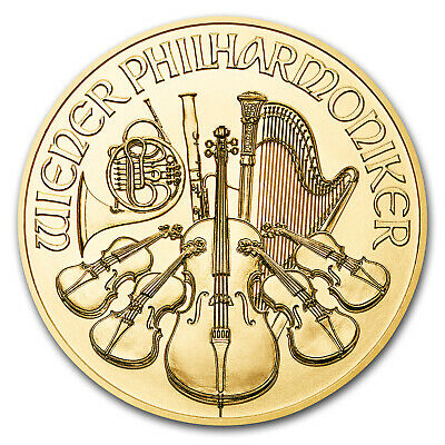 2018 Austria 1/4 oz Gold Philharmonic BU - SKU#152543