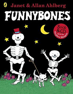 Funnybones Book & CD by Allan Ahlberg New Paperback Book