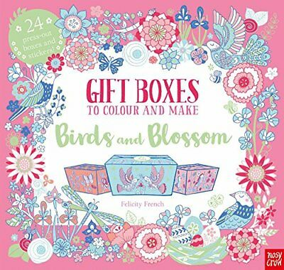 The Colouring Book of Beautiful Gift Boxes B by Nosy Crow Ltd New Paperback Book