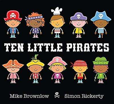 Ten Little Pirates by Mike Brownlow New Paperback Book