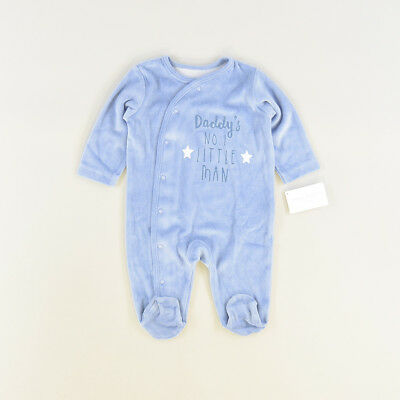 Pelele color Azul marca Early days 3 Meses