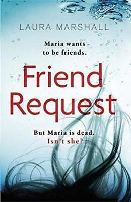 Friend Request The most addictive psycholog by Laura Marshall New Paperback Book
