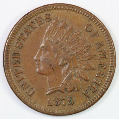 USA 1879 Cent, about Uncirculated