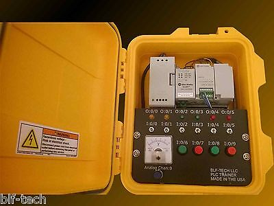 Allen Bradley Micro820 Analog PLC Trainer with FREE PLC Software for Training