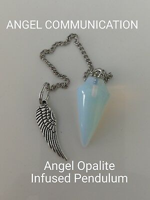 Code 657 Opalite Angel Infused Pendulum Doreen Virtue Certified Practitioner