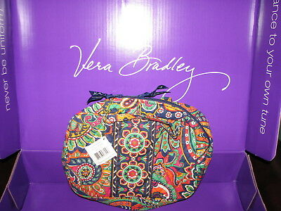 Vera Bradley Venetian Paisley Grand Cosmetic Bag - Lined -  New With Tags $42