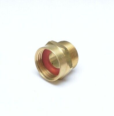 """3/4"""" Male NPT Pipe to 3/4"""" Female Garden Hose GHT Thread Adapter FasPartsUSA"""