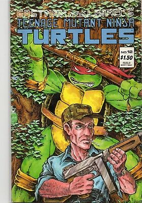 Teenage Mutant Ninja Turtles #12 Copper Age Mirage Comic Book 1987
