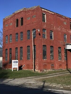 3 Story Brick Warehouse with Basement on 1 Acre raw land.