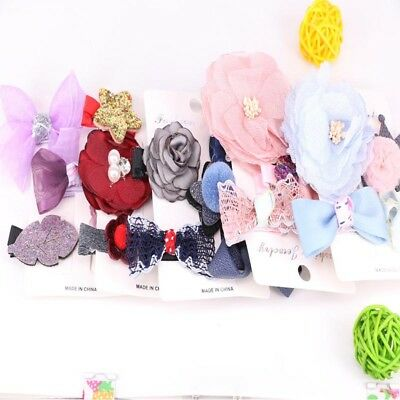 Barrette Girls Kids Bowknot Hair Accessories Hair Clips Headdress Hairpin