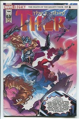 Mighty Thor #700 - Russell Dauterman Main Cover - Marvel Comics/2017