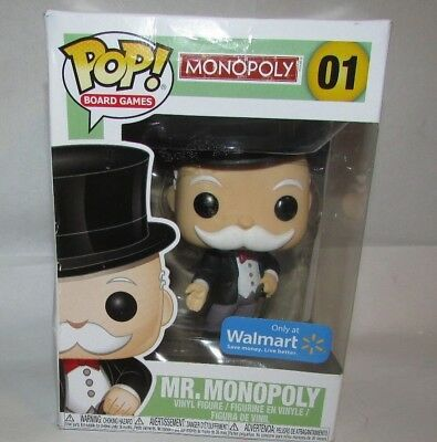 Funko Pop Board Games Monopoly Mr Monopoly Uncle Pennybags