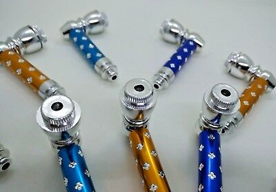 "2.5"" Tobacco Screw Pipe Smoking Metal Pipe w/ Cap Collectible BUY 2 & 1 FREE"