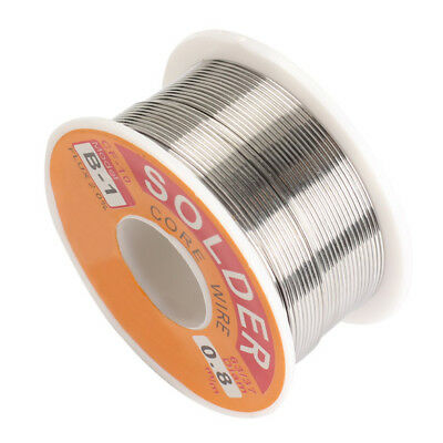6 Size Tin Lead Melt Rosin Core Solder Wire Roll for Electrical Solderding New
