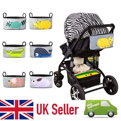 Seller Baby Universal Pram Pushchair Buggy Organizer Bag with Cup Holder Storage