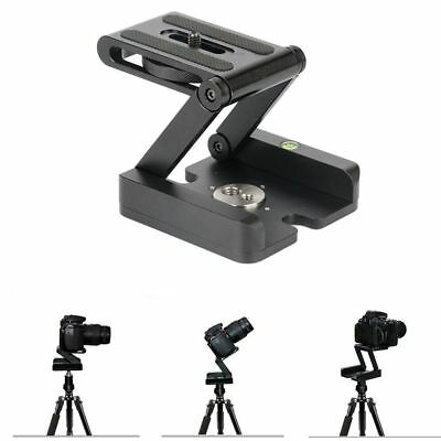 Z Type Tilt Tripod Head Flex Folding Z Pan For DSLR Camera Aluminum