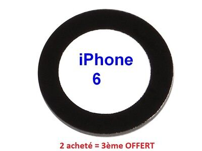 Pour iPhone 6 Lentille en Verre Caméra Appareil Photo Rear Back Camera Lens OEM