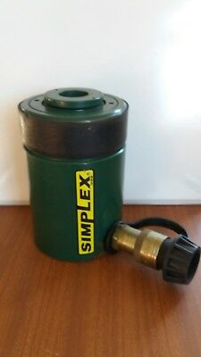 "SIMPLEX RC 202 - 20 ton - 2"" stroke centre hole cylinder"