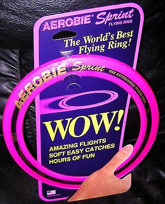 "Authentic Aerobie Sprint 10"" Flying Ring New Free Fastest Shipping"