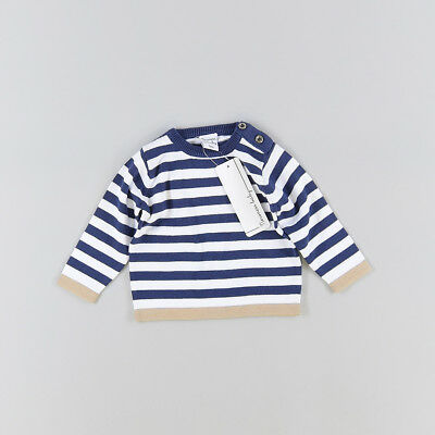 Jersey color Azul marca Newness 3 Meses