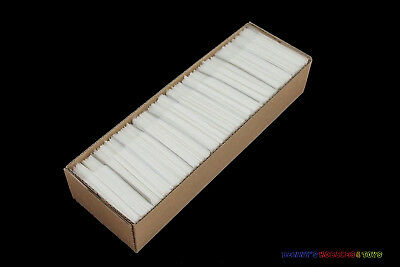 1000 New Glassine Envelopes 45mm x 60mm with Box - Stamp Philately Supplies